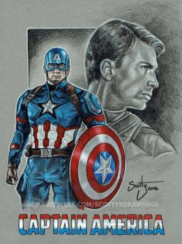 Captain America 2016 by scotty309