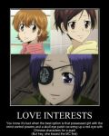 Anime Love Interests by Doomslicer