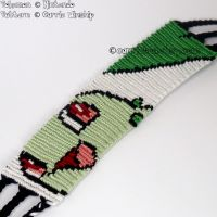 "Chikorita 1.5"" Bracelet by CarrieBea"