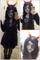 Promstuck!Vriska Serket Cosplay #3 by Jojoleeday