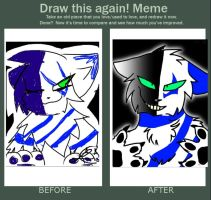 Draw This Again Meme by Zertec257