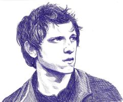 Jamie Bell by bareankles