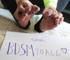 Thanks BDSMtoall! by Whor4cle