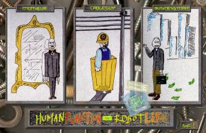 HumanFunction-RobotLife page 1 by robot51ck