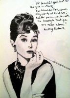 Audrey Hepburn by kaybabe300