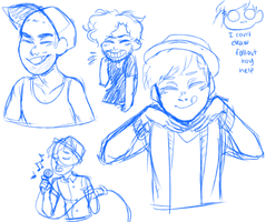doodles from tumblr// fall out boouy by radicalrumps