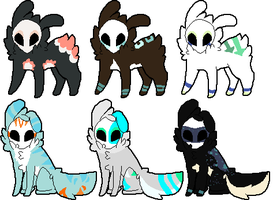 .:Maskee Adopts:. {Closed} by Flovvers