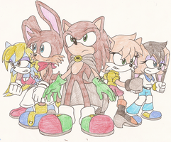 My Sonic Fan Characters by Sonicguru