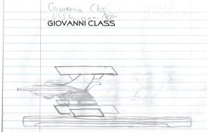 Giovanni Class Paper Drawing by kaisernathan1701