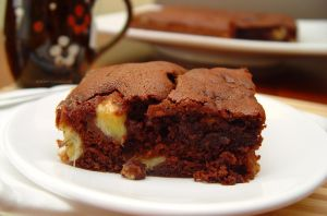 Banana Chocolate Cake by maytel