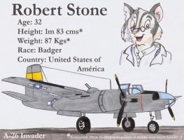 Robert and his A-26 Invader by DingoPatagonico