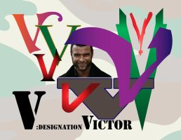 Phonetic Alphabet - Victor by omniferous