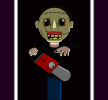Little Red Chainsaw Massacre by theblooman
