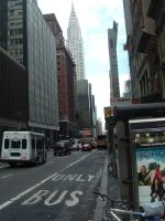 New York City Street 01 by Muttstock
