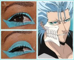 Eye Designs: Grimmjow by MakeupSiren