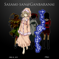 Sasami-san@Ganbaranai - Anime Icon by duckne55