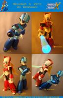 Megaman and Zero by Renmauzo by Renmauzo
