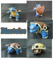 Weekly Sculpture: Blastoise