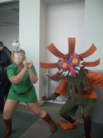 Kamaros mask and Skull Kid2 by girloveslink