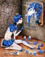 Blue Blood Blue by S-doll