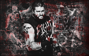 Kevin Owens Signature by SoulRiderGFX