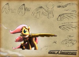 Fluttershy - Mares of Tomorrow by Lionheartcartoon