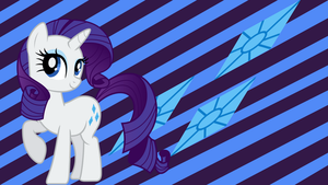 Rarity Wallpaper by SonicRainBoomFTW