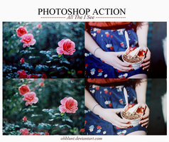 Photoshop Action - All The I See by OhBlunt