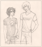 Percy Jackson-- Charmer by Golden-Flute