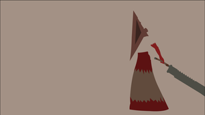 Pyramid Head by dragonitearmy