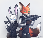 Wilde and Savage by oLEEDUEOLo