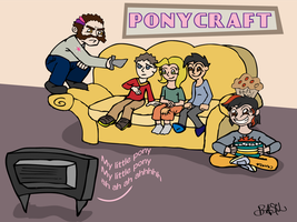 Ponycraft Twilight is Not a Good Babysitter? by ProfessorBasil