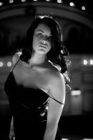 Rachel Depot BW by redvideo