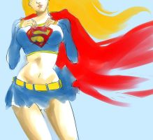 supergirl by 021