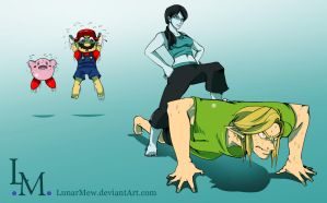 Newcomer: Wii Fit Trainer by LunarMew