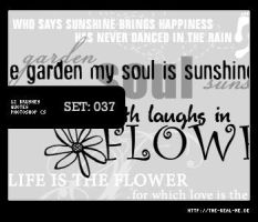 037: Big Quotes III - Spring by Lexana