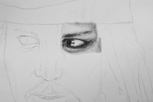 Jack Sparrow - eye detail by sun-shine03