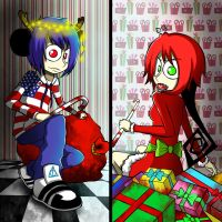 no santa is reael by ren-danny