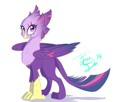 Twilight Griffon by FarewellDecency