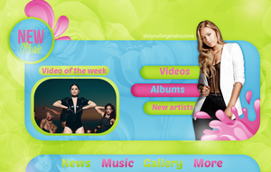++New Music Header by DidYouForgetAboutMe