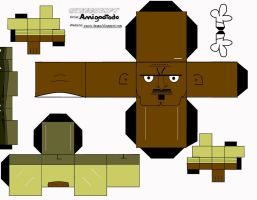 Cubeecraft: Chef Hatchet by amigodtodo