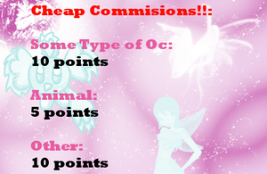 Cheap Commission :CLOSED: by pandalover68