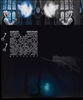 Expecto Patronum by lizzwilson3