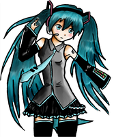 Hatsune Miku by Nancy9595
