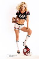 Football Girl by viamarie