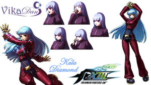 Kula Diamond KOF XIII by VikaDan