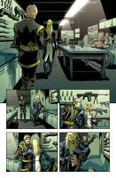 New Avengers Reunion 1,p.19 by ilpuci