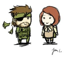 MGS3: Snake + Para-Medic by WithSkechers