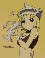 Patty Soul Eater Vector by sonic12399