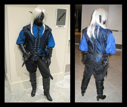 Me as Shiz at Dragon Con 2009 by KMCgeijyutsuka
